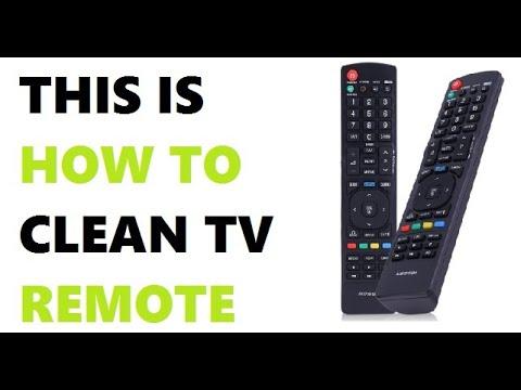 How to clean TV remote (Any Brands) and reuse it | टीवी रिमोट को कैसे साफ करें |