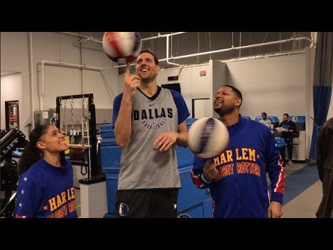 Tricks with the Dallas Mavericks | Harlem Globetrotters