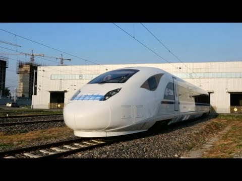 New-generation bullet train rolls off production line in N China