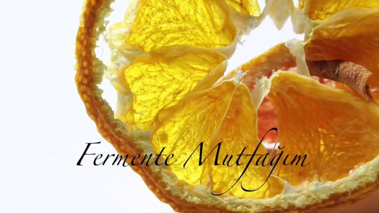 Portakal Kvas (Fermente Portakal İçeceği)