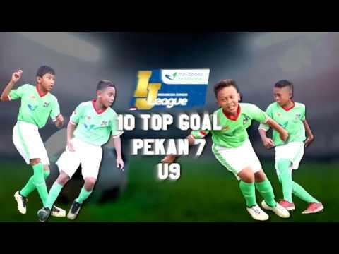 Top 10 Goal Indonesia Junior Mayapada League pekan ke-7 [U9] 1-4-2018