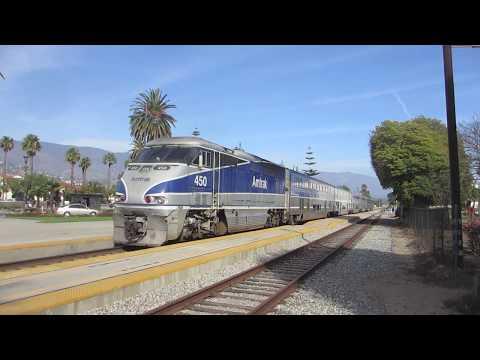 Railfanning Santa Barbara (February 2014)