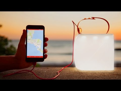 LuminAID Solar Lantern and Phone Charger ! - Crowdfunding Ca