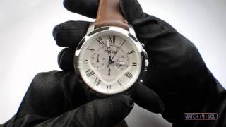 Обзор мужских часов Fossil FOS FS4735