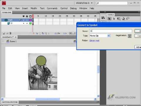 Mask layer tutorial on adobe flash cs4 youtube.