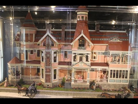 Rose Mansion Los Angeles (Miniatures Museum of Taiwan / 袖珍博物館 / 袖珍博物馆)