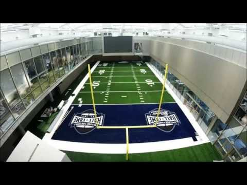 College Football Hall of Fame Installation