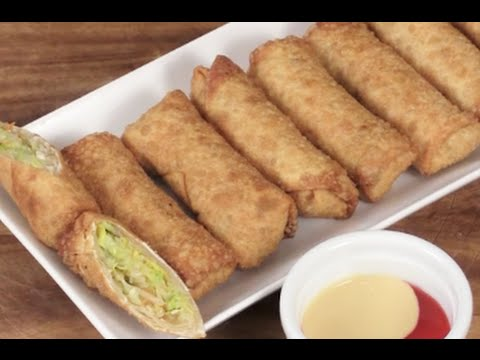 how to cook vegetable spring rolls in the oven