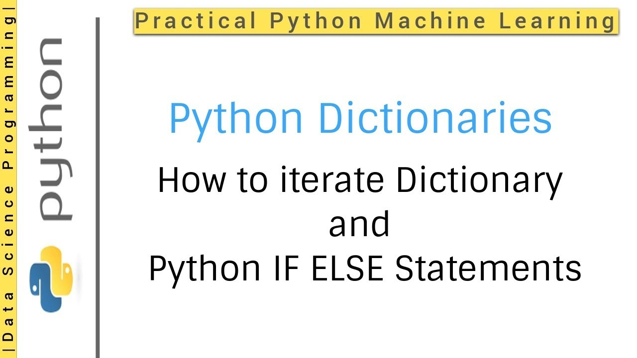Python Dictionaries Tutorial 12 How To Loop Dictionary Python