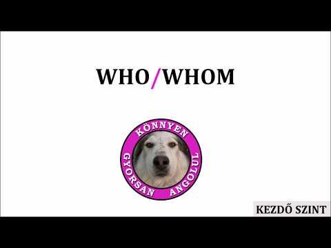 Who/Whom
