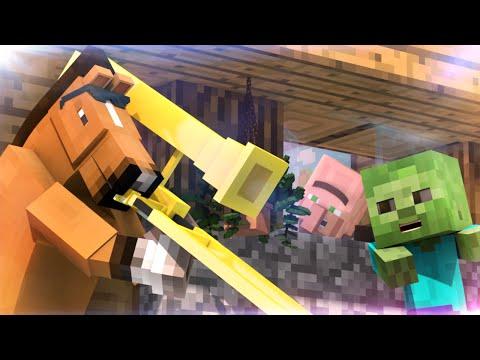 When Steve isn't Online (60fps Minecraft Animation)