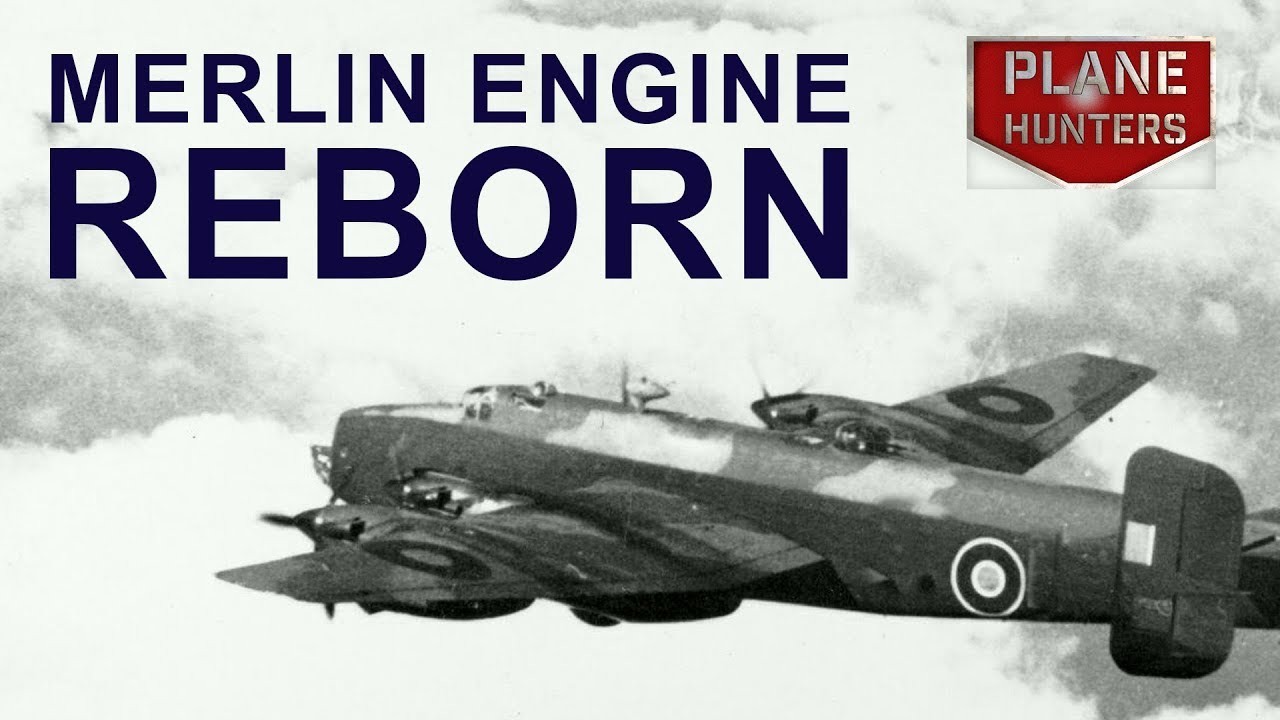 WW2 Engine Reborn - Buried for 70 years the story of Halifax JD150