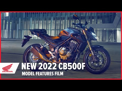 New 2022 CB500F Model Features Film