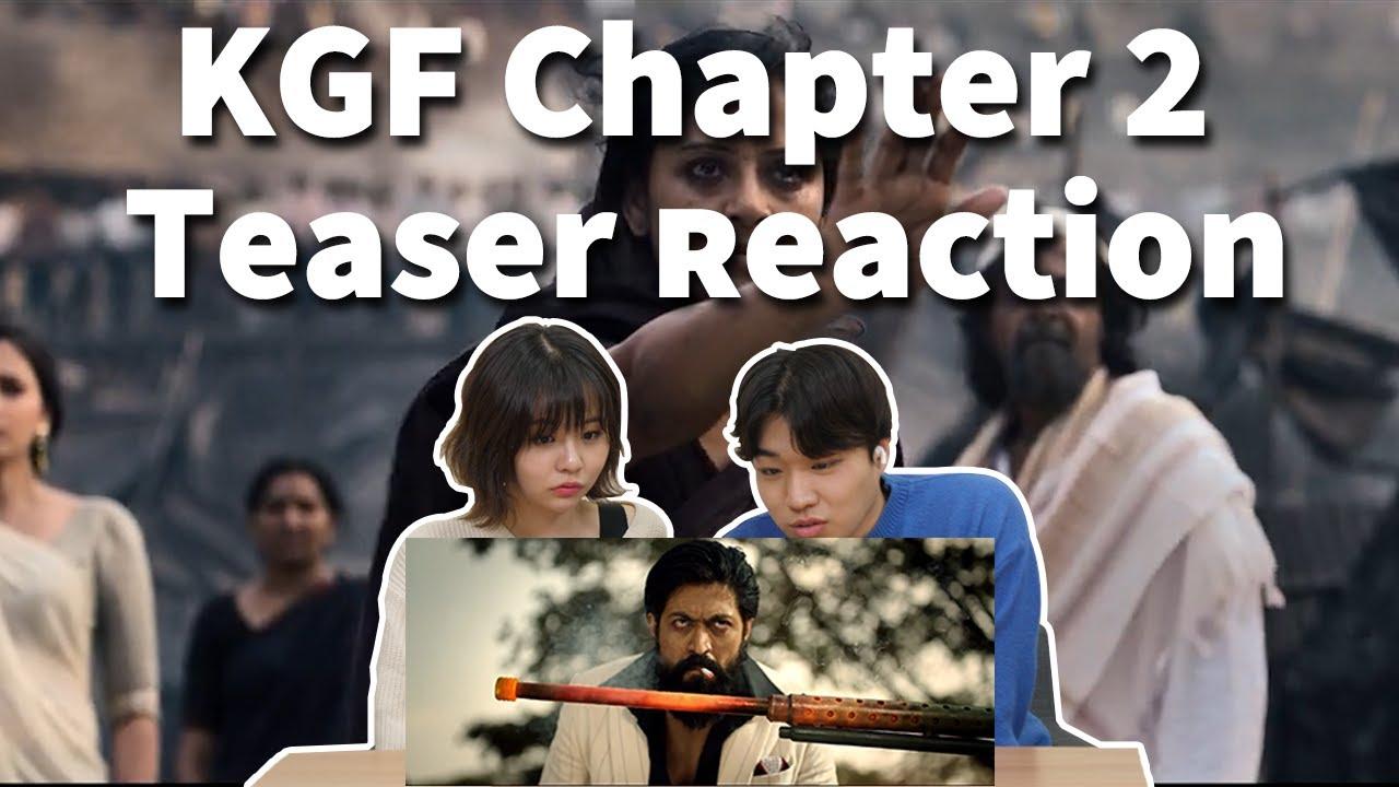 [REACTION] KGF Chapter2 TEASER