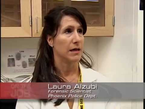 On The Job, Laura Alzubi, Forensic Scientist