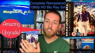 Magnum P.I. The Complete Remastered 1080p HD Blu Ray TV Series Set, Detailed Review   Tom Selleck