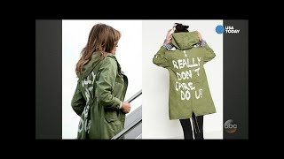 """""""We Care"""" Shirts Spoofing Melania Trump's Infamous Jacket Are Fundraising Cash For Democrats"""