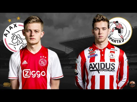 Dani Hagebeuk - Frank van der Slot | Ajax - Sparta Rotterdam | Speelronde 22 | E-Divisie