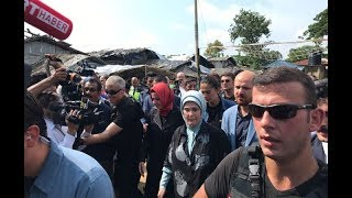 Turkish First Lady visits Rohingya refugee camp in Cox's Bazar
