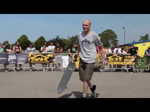 Sebastian Heupel - 1st Place Freestyle Skateboarding World Championships at NASS 2013