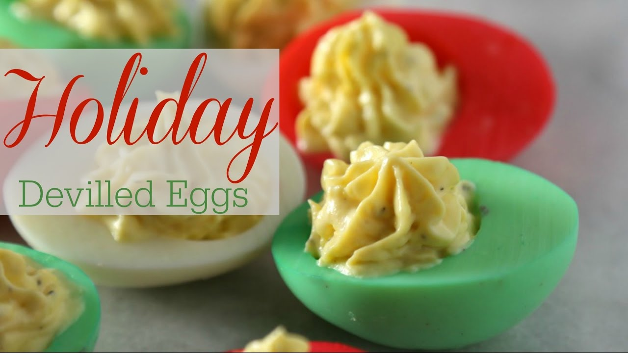 devilled egg recipe christmas style