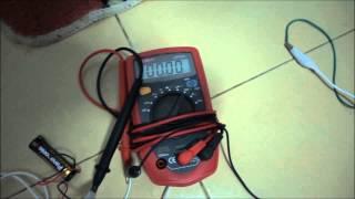 Avramenko plug -single wire power transmission for flash tube ver 2.0