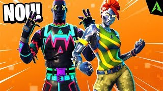 "NOUVEAU ""SECRET"" SKINS APPEARING in FORTNITE SEASON 4!"