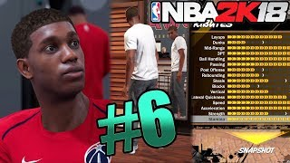 NBA 2k18 MyCAREER Gameplay - NBA Debut! Playground Free Roam! Maxing Out My Player with VC! Ep.6