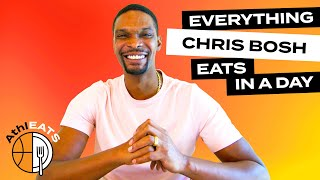 Everything NBA Legend Chris Bosh Eats In A Day | Delish