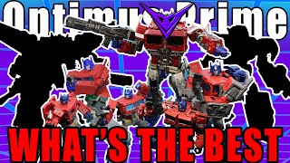 Best Optimus Prime Toys