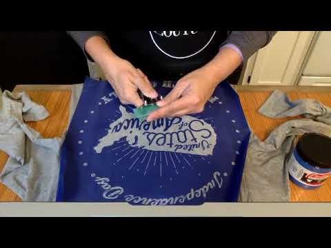 Chalk Couture with Chalk My World : Using Fabric Ink on T shirts