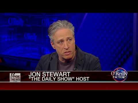 Jon Stewart on The O'Reilly Factor 2014.11.14 Part 1