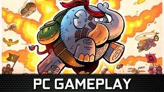 TEMBO THE BADASS ELEPHANT | PC Gameplay