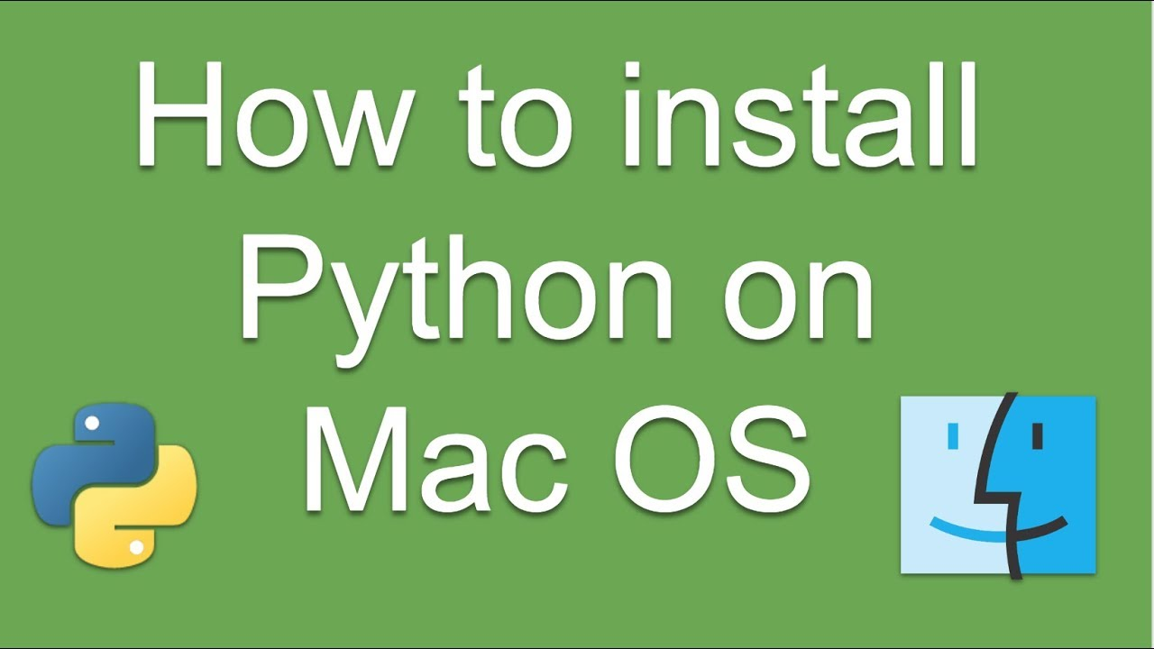 How to install Python on MacOS  Step by Step for Beginners