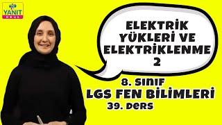 Elektrik Yükleri ve Elektriklenme 2 | 2021 LGS Fen Bilimleri Konu Anlatımları
