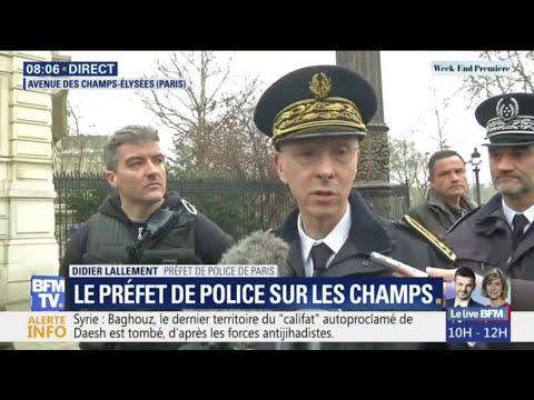 Gilets jaunes: le préfet de police de Paris détaille le nouveau dispositif des forces de l'ordre