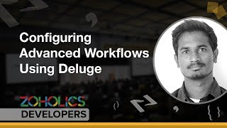 Configuring Advanced Workflows Using Deluge - Sriram Sivaramakrishnan S