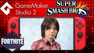 Massive News: Sakurai Confirms he is working on Smash Switch -Fortnite Mobile -New Switch Games leak