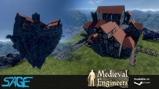Medieval Engineers, SkyTown, With Cathedral
