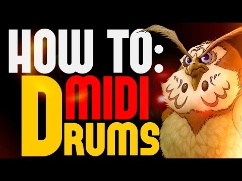 Getting a Realistic Sound on MIDI drums - 5 TIPS in 5 MINUTES Tutorial