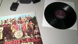 The Beatles - Sgt. Pepper Vinyl Unboxing