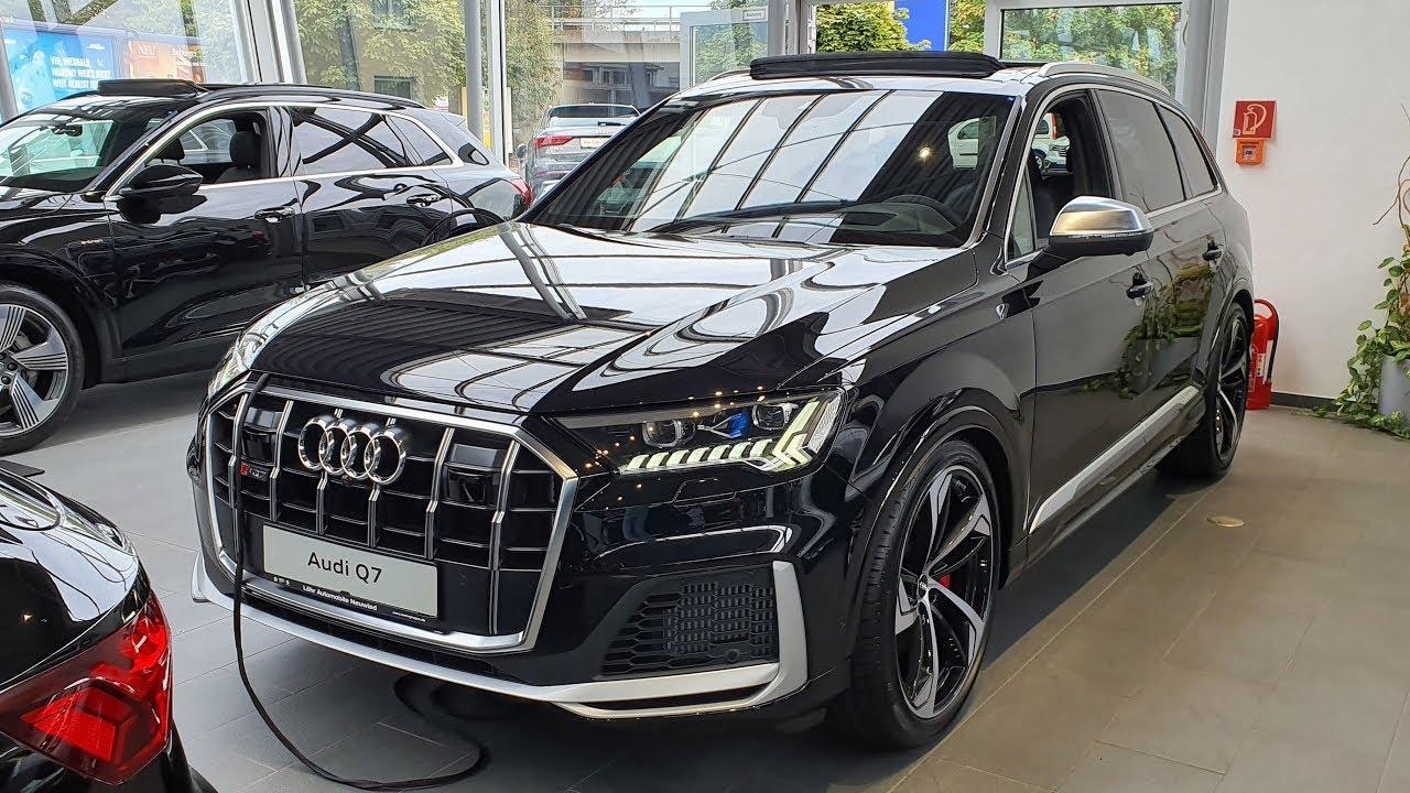 2020 Audi Sq7 Tdi Quattro Tiptronic Youtube