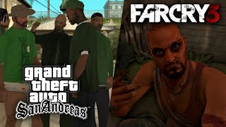 Grand Theft Auto: San Andreas ► СТРИМ #3 + Far Cry 3
