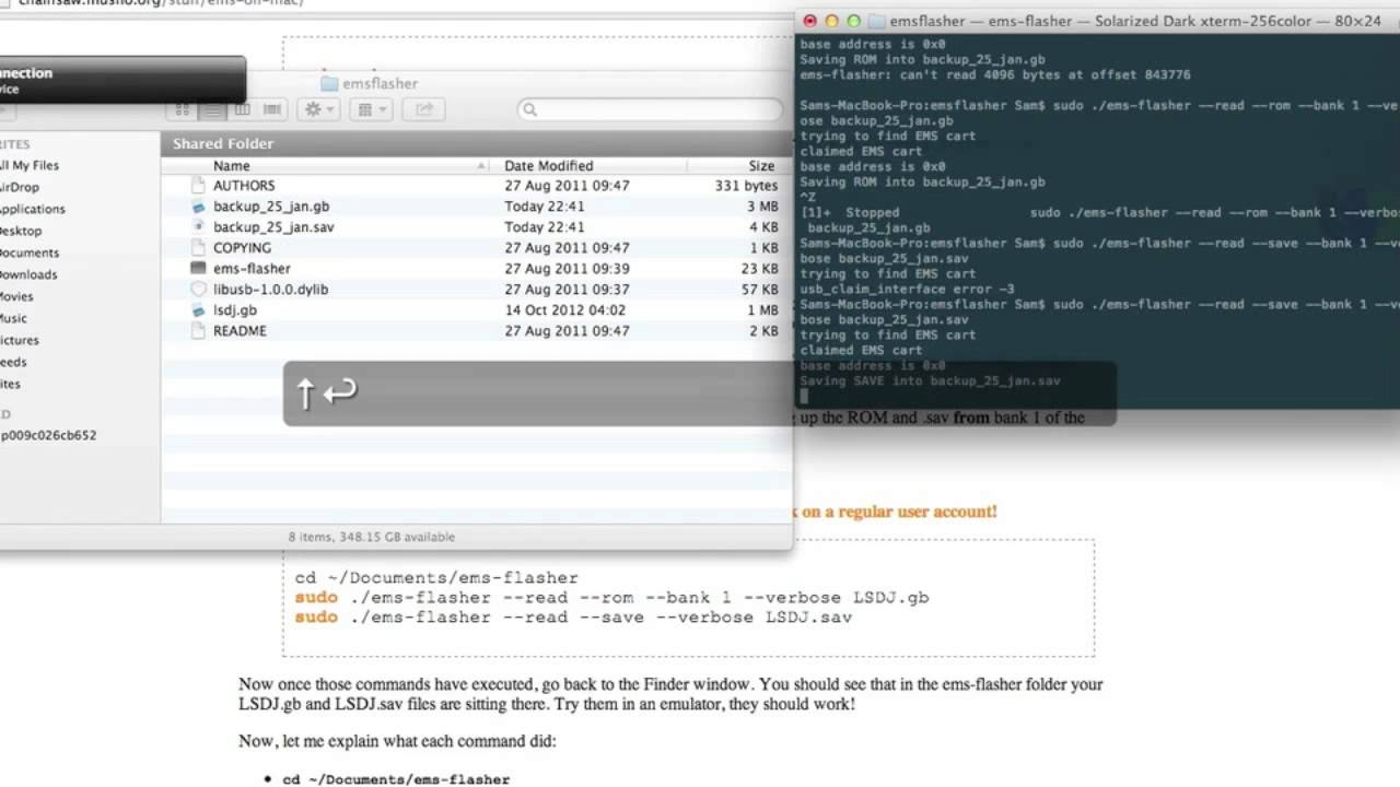 How do I back up my LSDJ files? (Page 1) - Software & Plug