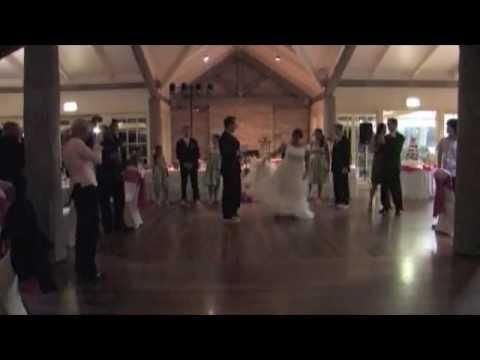 The Best Wedding Reception Entrance Dance Ever