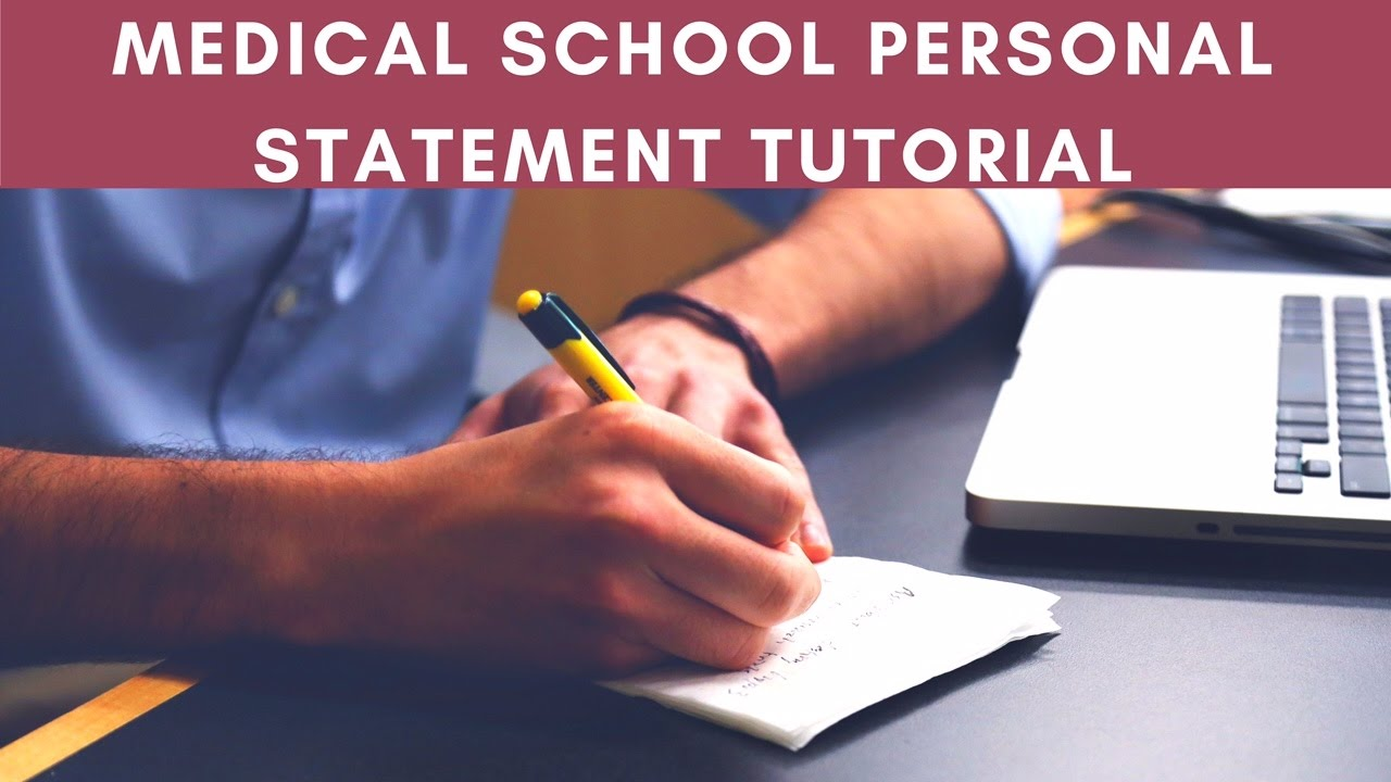 Medical school personal statement service