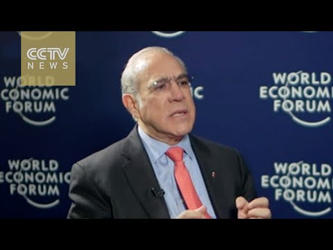 OECD Secretary General Angel Gurria calls on investors not to overreact to China's slowdown