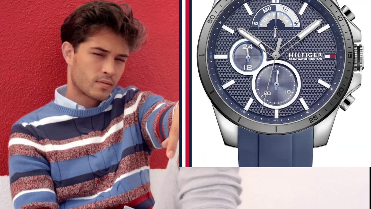 804e686c9c31 Reloj Tommy Hilfiger 1791476 Silicon Azul Hombre -   479.900 en Mercado  Libre