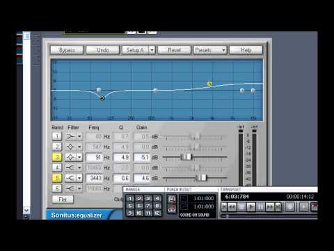 Mixing Vocals in Sonar