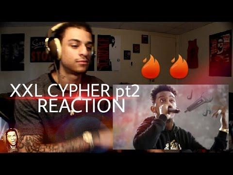 Desiigner, Lil Dicky & Anderson 's 2016 XXL Freshmen Cypher REACTION!!